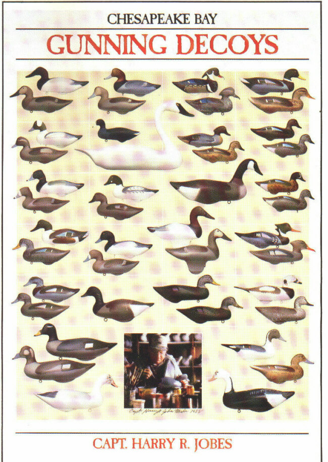 Harry Jobes Complete Collection Of Gunning Decoys